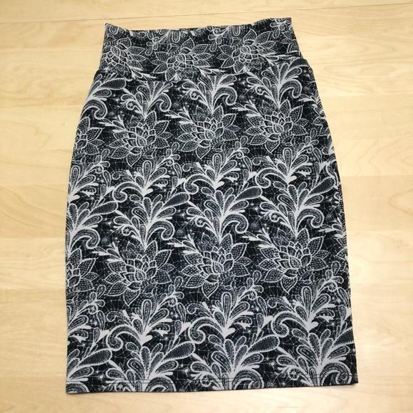 Skirts 100% True Nwt Lularoe Xs Cassie Pencil Skirt